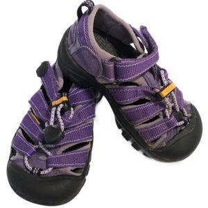 Keen Girls Purple Newport H2 Sandals